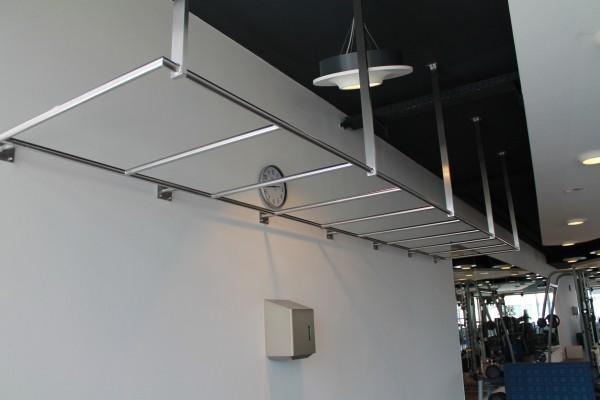 Halterung für mehrere Schlingentrainer – 550 cm Länge