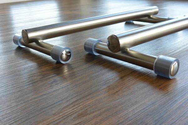 Handstandbarren, Mini-Barren aus Edelstahl - 7,5 cm hoch