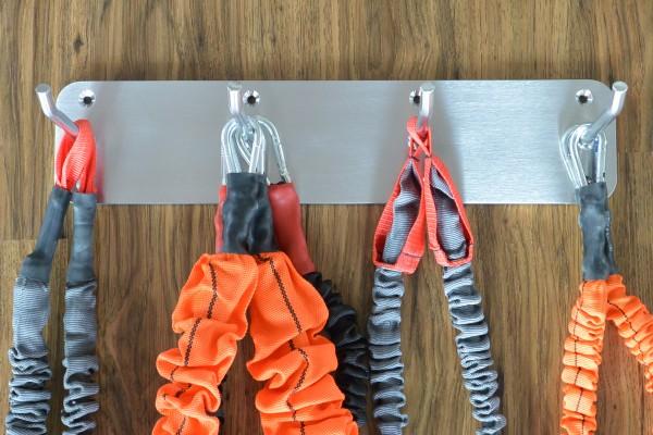 Wandhalterung für Pilates Federn