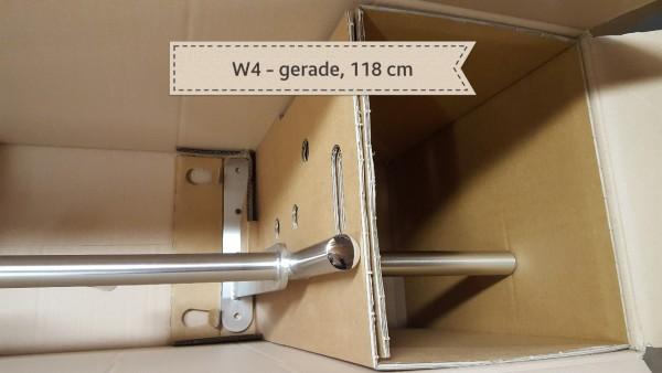 Sonderanfertigung - Klimmzugstange W4 für Wand, gerade 118 cm