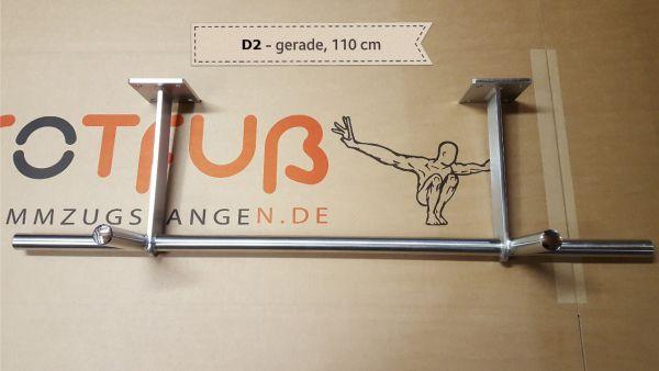 Sonderanfertigung - Klimmzugstange D2 für Decke, Rohr gerade und 108 cm lang
